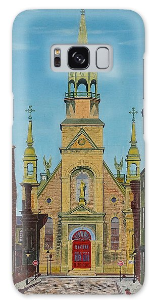Notre Dame De Bonsecours Galaxy Case