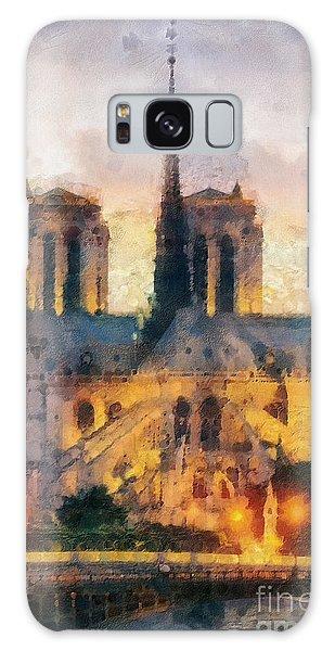 Notre Dame De Paris Galaxy Case
