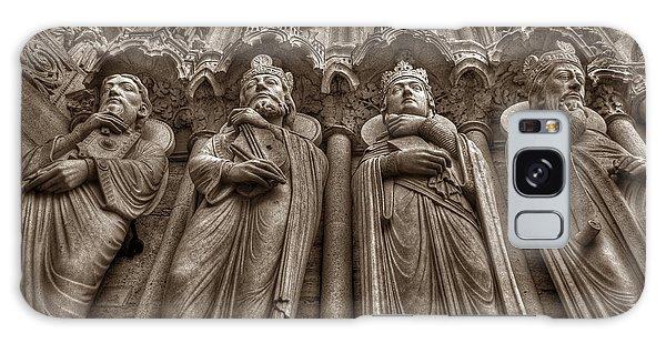 Notre Dame Facade Detail Galaxy Case