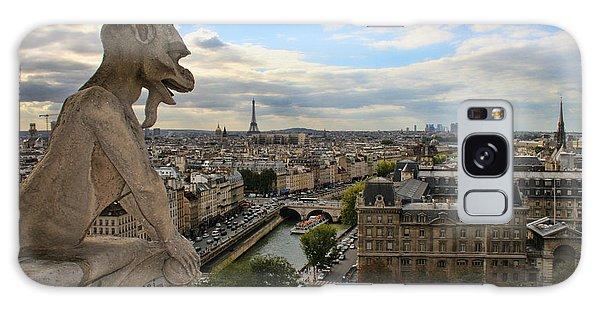Notre Dame Gargoyle Galaxy Case