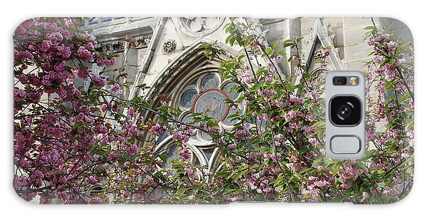 Notre Dame In April Galaxy Case