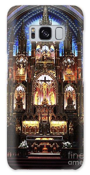 Notre Dame Interior Galaxy Case