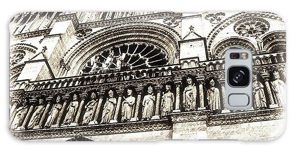 Notre Dame Pencil Galaxy Case