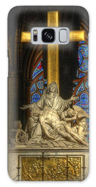 Notre Dame Pieta Galaxy Case