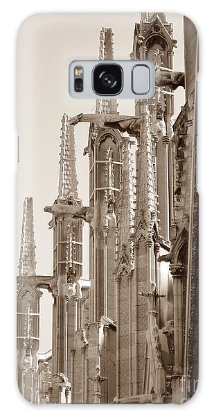 Notre Dame Sentries Sepia Galaxy Case