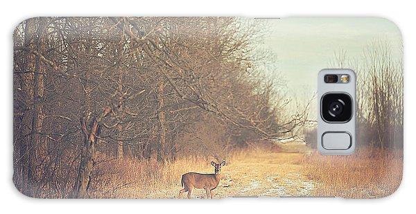 November Deer Galaxy Case by Carrie Ann Grippo-Pike