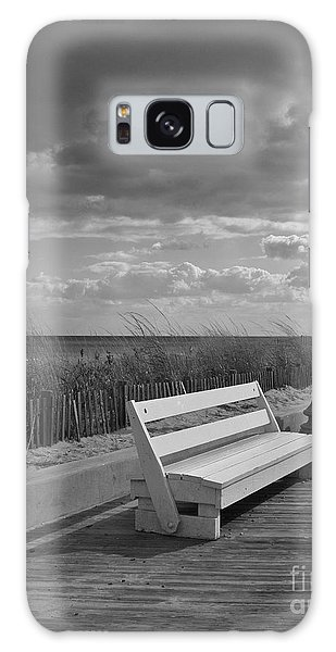 November On The Boardwalk Galaxy Case by Arlene Carmel