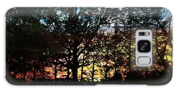 November Sunset Galaxy Case