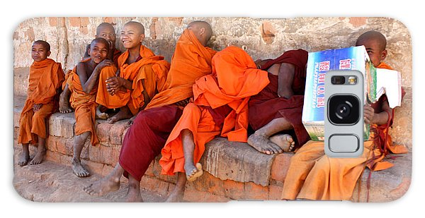 Novice Buddhist Monks Galaxy Case