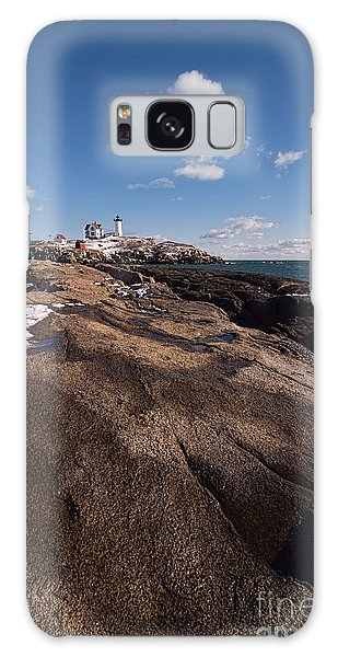 Nubble Light Portrait Galaxy Case