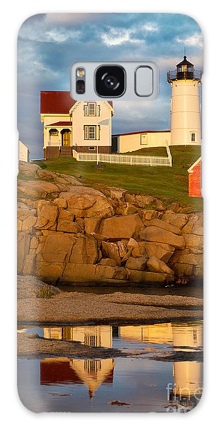 Nubble Lighthouse No 1 Galaxy Case by Jerry Fornarotto