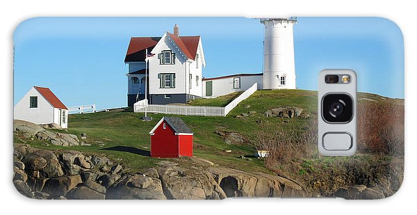 Nubble Lighthouse One Galaxy Case