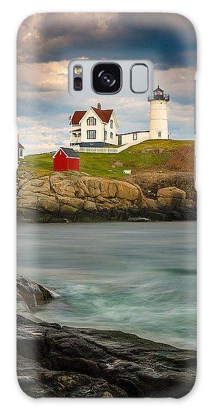 Nubble Lighthouse Galaxy Case by Steve Zimic