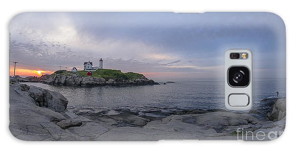 Nubble Lighthouse Galaxy Case