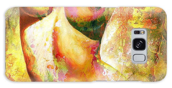 Nude Details - Digital Vibrant Color Version Galaxy Case by Emerico Imre Toth