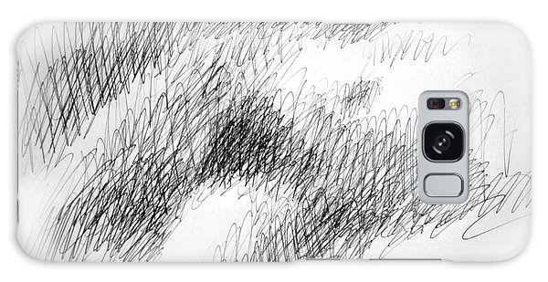 Nude Female Abstract Drawings 1 Galaxy Case