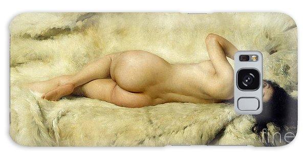 Polar Bear Galaxy S8 Case - Nude by Giacomo Grosso
