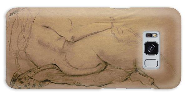 Nude On Blanket Galaxy Case by Gabrielle Schertz