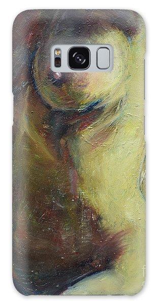 Nude Female Torso Galaxy Case