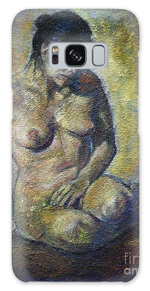 Sad - Nude Woman Galaxy Case