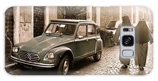 Nuns With Vintage Car Galaxy Case