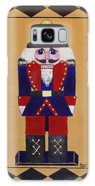 Nutcracker Floor Cloth Sgt. Blue Galaxy Case