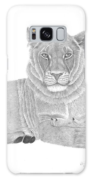 Nyah The Lioness Galaxy Case