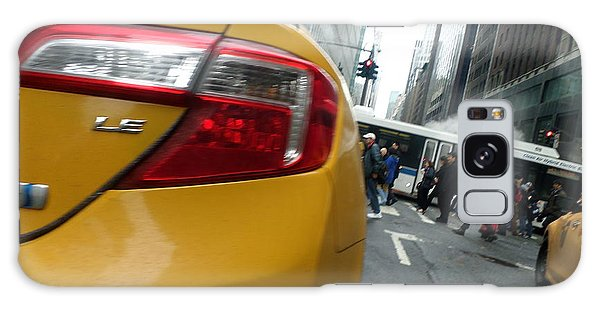 Robert Smith Music Galaxy Case - Nyc Cab by TSB Art Gallery Dennis Thompson Jr Curator Photographer