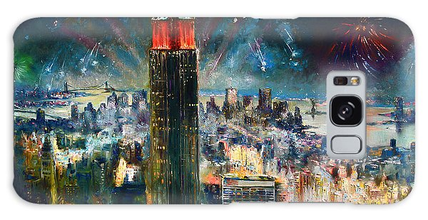 Broadway Galaxy Case - Nyc In Fourth Of July Independence Day by Ylli Haruni