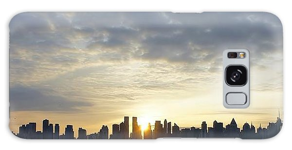 Nyc Sunrise Panorama Galaxy Case