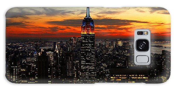 Nyc Sunset Galaxy Case