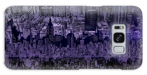 Nyc Tribute Skyline Galaxy Case