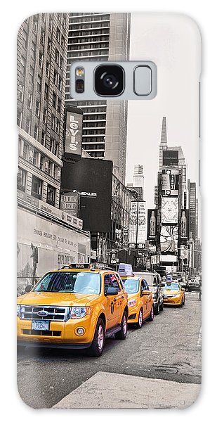 Galaxy Case - Nyc Yellow Cabs by Paulette B Wright