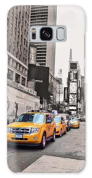 Nyc Yellow Cabs Galaxy Case