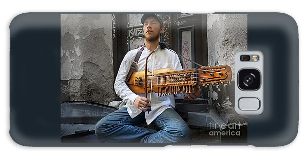 Nyckelharpa Player Of Estonia Galaxy Case