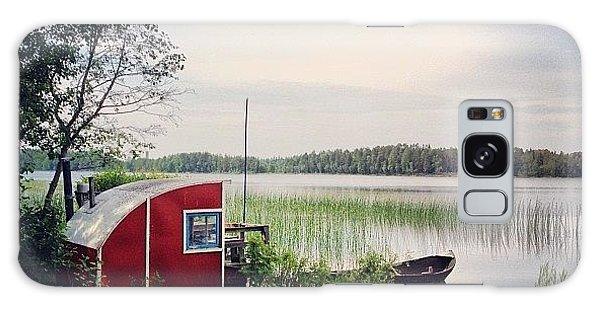 Music Galaxy Case - #nydala #nydalasjön #rödstuga #sjö by Carina Ro