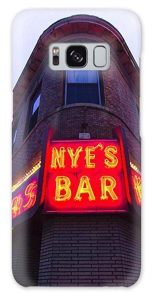 Nye's Bar By Day Galaxy Case