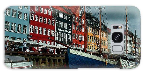 Galaxy Case featuring the photograph Nyhavn Copenhagen by Colette V Hera  Guggenheim