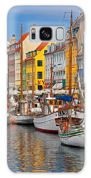 Nyhavn Sailboats Galaxy Case