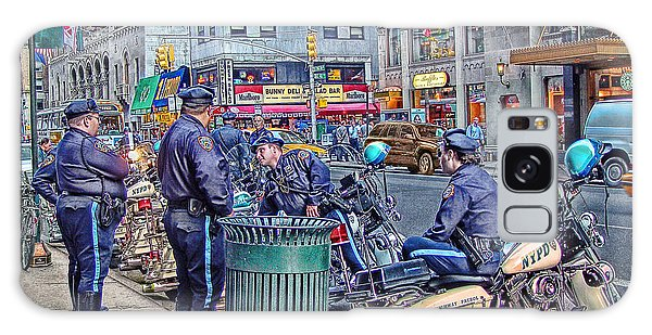 Nypd Highway Patrol Galaxy Case by Ron Shoshani