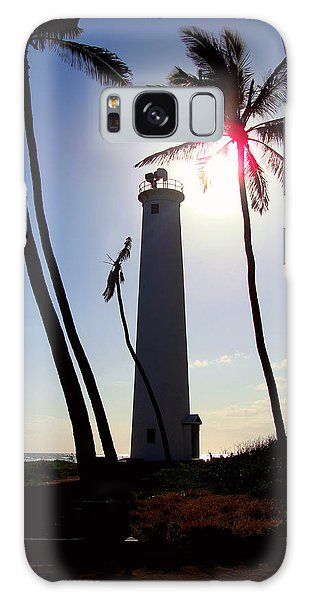 Oahu Lighthouse Galaxy Case