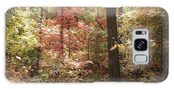 Oak Creek Arizona Fall Foliage Galaxy Case