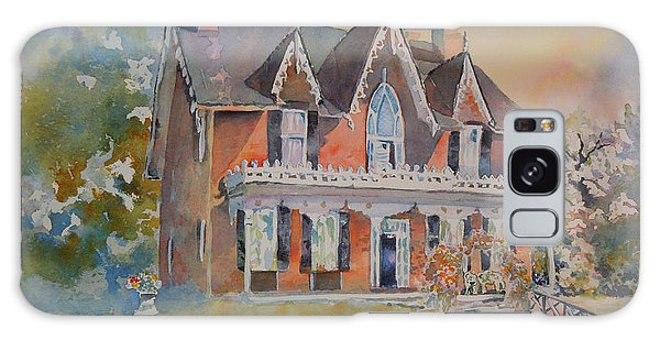Oak Hill Cottage Galaxy Case