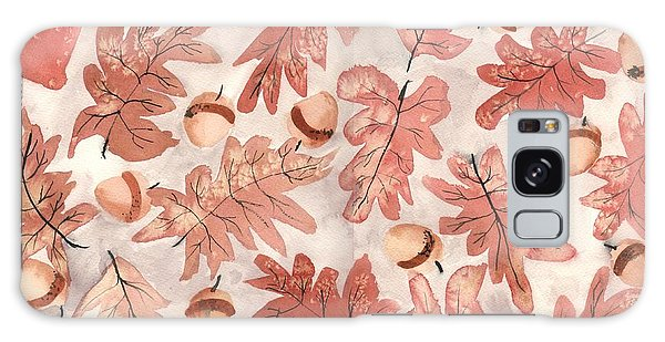 Autumn Galaxy Case - Oak Leaves And Acorns by Neela Pushparaj