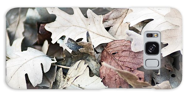 Oak Leaves In Fall Galaxy Case