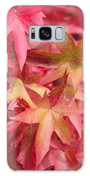 Oak Leaves In The Fall Galaxy Case by E Faithe Lester