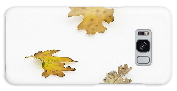 Galaxy Case featuring the photograph Oak Leaves by Sherri Meyer