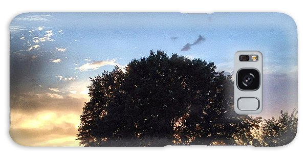 Oak Tree At The Magic Hour Galaxy Case
