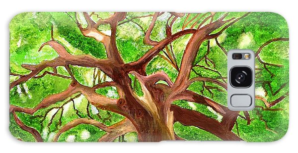 Oak Tree Galaxy Case by Magdalena Frohnsdorff