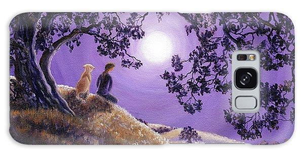 Oak Tree Meditation Galaxy Case